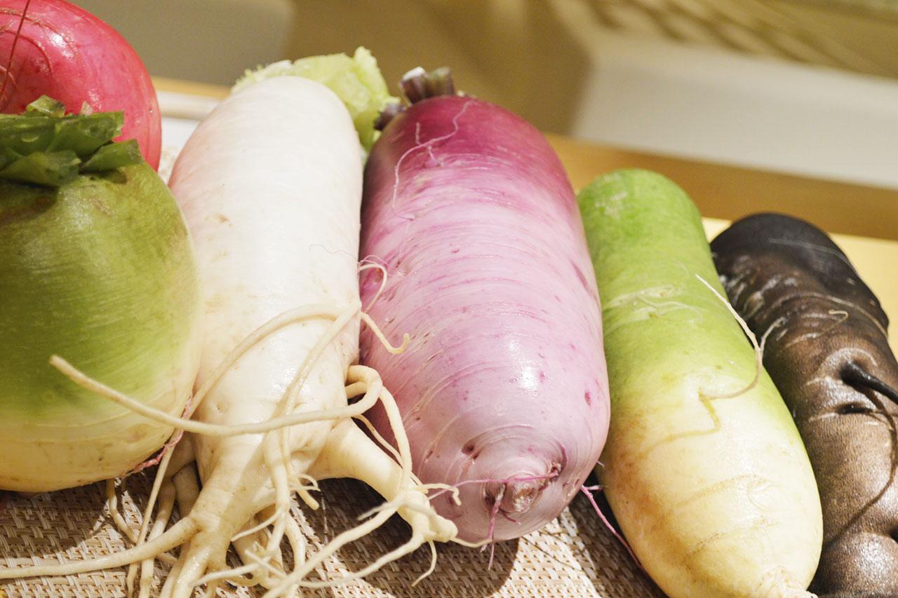 美しく美味しい自家農園野菜